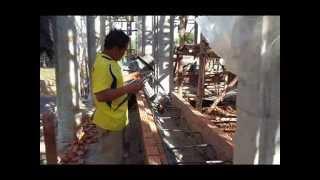 เอิ้นหาน้องเขียว  สลัก ศิลาทอง  ร่วมสร้างโบสถ์ บ้านโนนสะอาด โนนนิคม อ.หนองบัวแดง จ.ชัยภูมิ