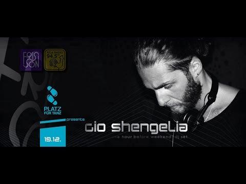 RigaRadio Frisson event 2014-12-19 Platz fur Tanz presents Gio Shengelia