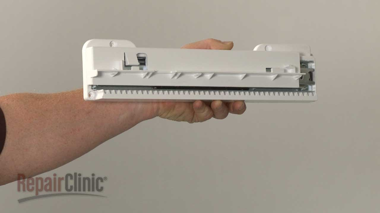 lg refrigerator drawer replacement. lg refrigerator upper drawer left rail replacement 4975ja1040a lg