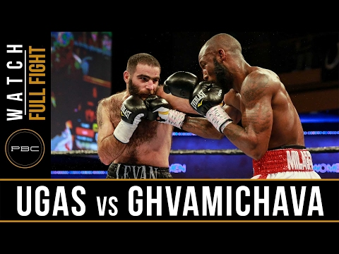 Ugas vs Ghvamichava FULL FIGHT: February 2, 2017 - PBC on FS1