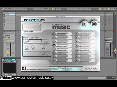 Enzyme CM - FREE VST/AU scanned synth instrument for PC/Mac