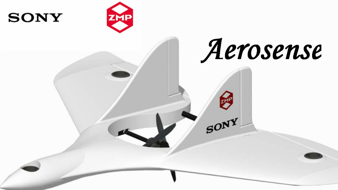 sony joins with zmp to launch drone  pany aerosense