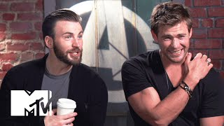 Avengers Age Of Ultron Cast Know Their Biceps  MTV News