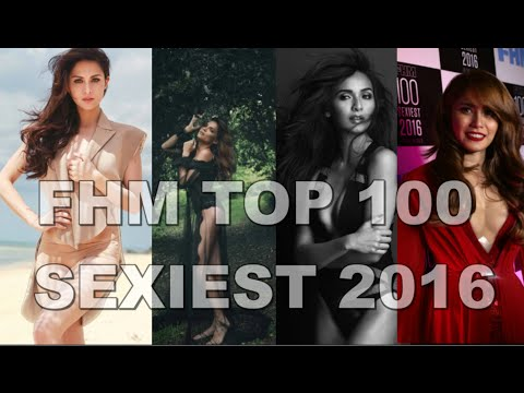FHM Top 100 Sexiest Women in the World COMPLETE List