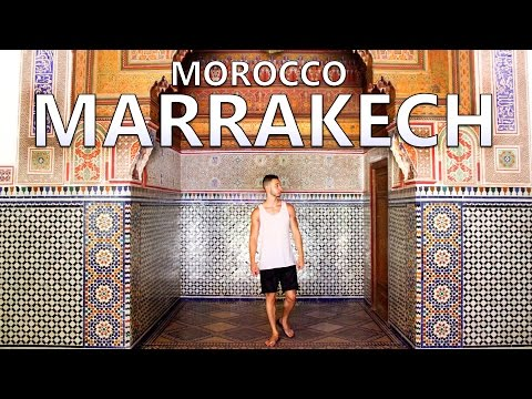 Let's Travel Morocco VLOG - Visit Marrakech Top Things To Do