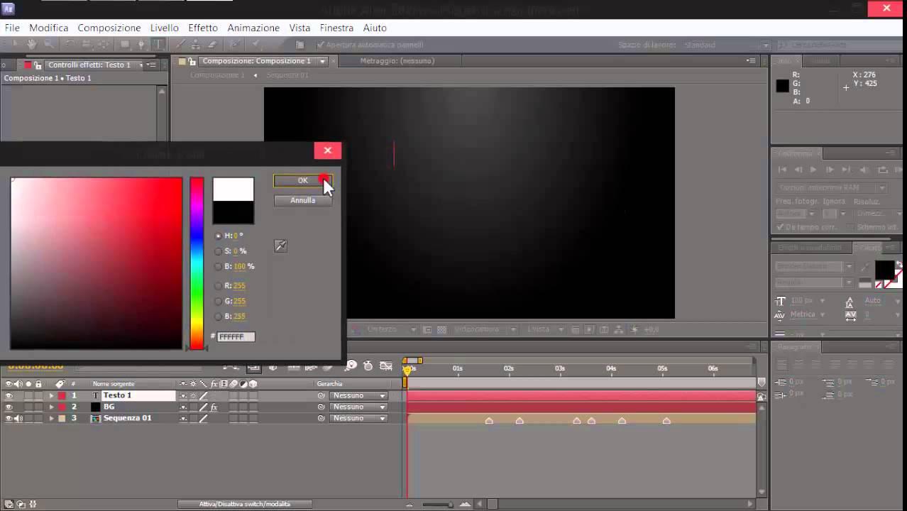 Tutorial Kinetic Typography Italiano Lyric Video Youtube