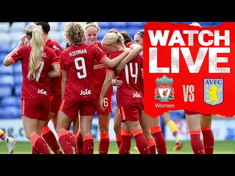 Liverpool FC Women v Aston Villa | Live Continental Cup action