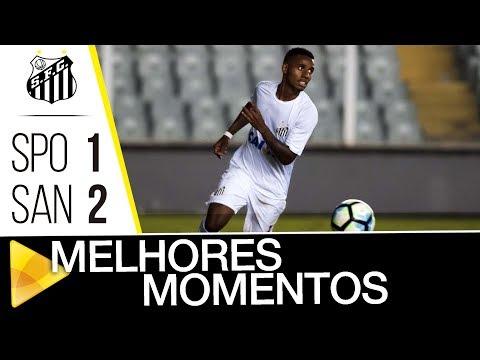 São Paulo 1 x 2 Santos | MELHORES MOMENTOS | Brasileiro de Aspirantes (23/11/17)