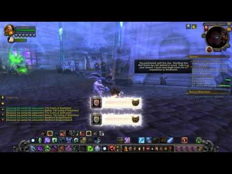 Arthas vs Malganis in World of Warcraft