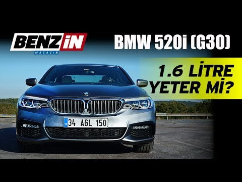 BMW 520i Test Sürüşü 2017 // 1.6 motor yeterli mi?