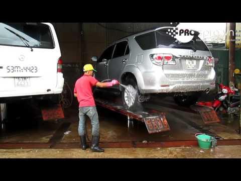 Mở Tiệm Rửa Xe ô Tô Xe Máy Chuyên Nghiệp