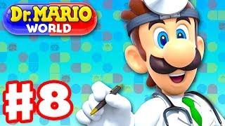 Dr. Mario World - Gameplay Walkthrough Part 8 - Dr. Luigi! Levels 81-90 3-Star! (iOS)