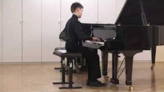 Nace Slak plays Bach Three Part Invention No.7 in E minor BWV 793