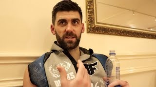 'I REALISED THERE WAS A F****** FIGHT' - ROCKY FIELDING REACTS TO EMPHATIC STOPPAGE WIN IN LIVERPOOL