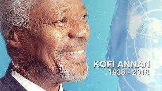 Tribute to Kofi Annan (1938-2018)