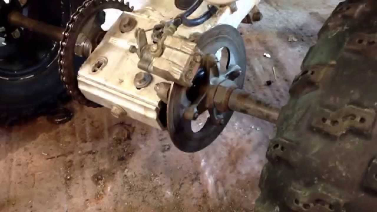 How to replace rear brake pads on a Suzuki LTZ 400 Atv 4 wheeler ...