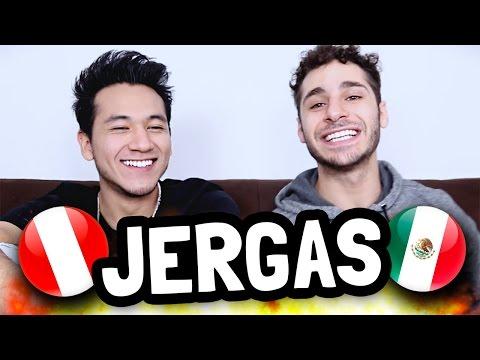 JERGAS PERUANAS VS JERGAS MEXICANAS   DEBRYANSHOW & ANDYNSANE