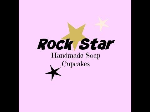 Making Rock Star soap cupcakes ~ Dandi Creations