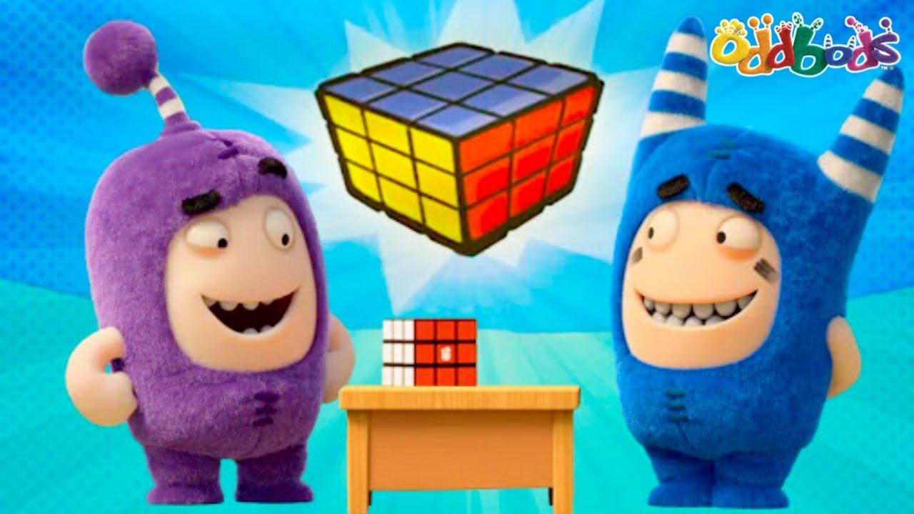 Oddbods | ใหม่ | Learn To Solve A Puzzle - เรียนรู้วิธีการแก้ไขปริศนา | การ์ตูนสนุกสำหรับเด็ก