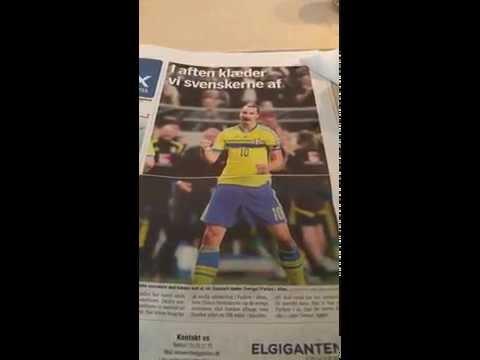 Just your average Danish newspaper