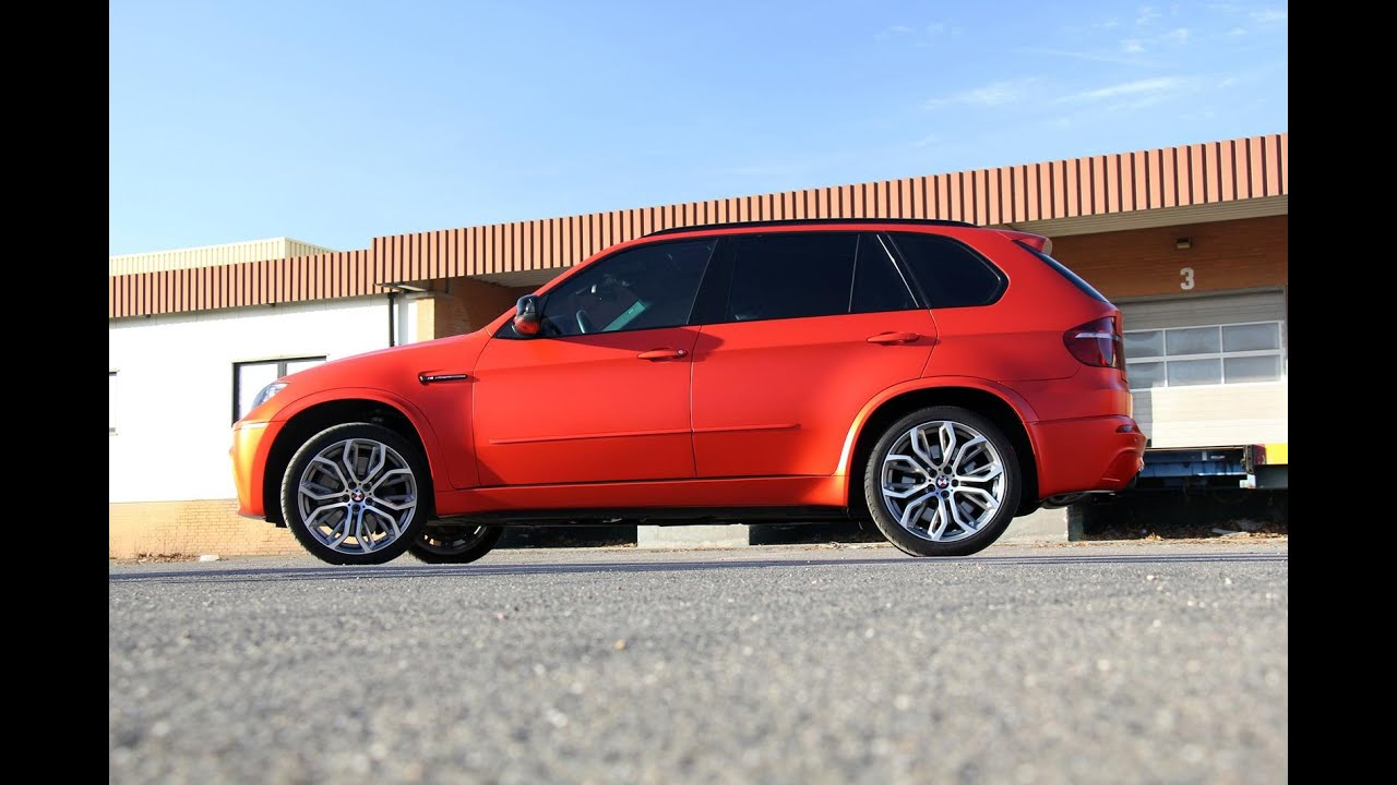 Fostla Shows Its Frozen Red 650 HP BMW X5 M