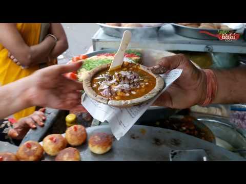 Indian Masala CHAAT | India Street Food | Food In Pushkar India | Shankar Sindhi Chaat