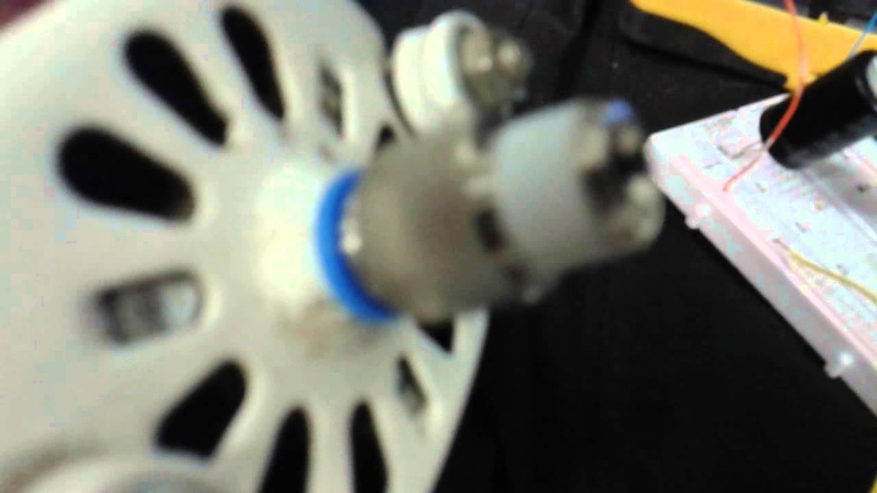Control de velocidad de motor universal por PWM a 110VAC