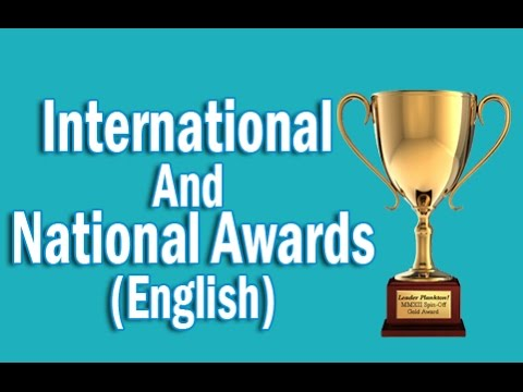 Indian Honour System  International And National Awards in English | Static GK