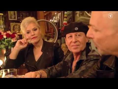 Inas Nacht #Episode 68 Klaus Meine und Rudolf Schenker Scorpions und Walter Sittler ARD, 3