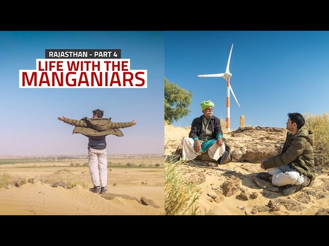 I went to the interiors of 'Thar Desert' with Locals   Life With The Manganiars : Part 4