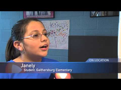 Rings for Reading at Gaithersburg Elementary School
