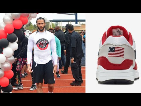 Nike Pulls 'Betsy Ross Flag' Sneakers After Colin Kaepernick Steps In