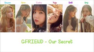 [3.17 MB] Our Secret (비밀 이야기) | GFRIEND Lyrics [ENG+ROM]