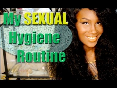 My SEXUAL hygiene routine! PG13!!!!
