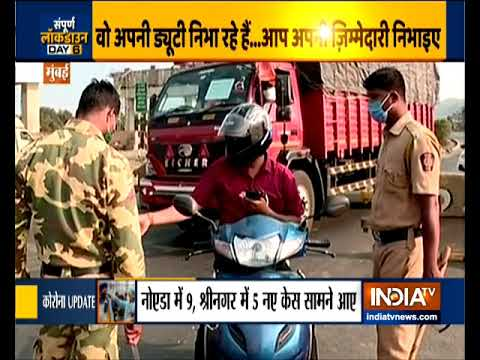 Coronavirus Lockdown: Deployment Of RCP At Mumbai-Ahmedabad Highway