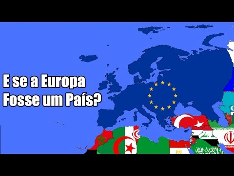 E se a Europa se Unisse e Formasse um País