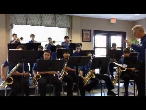 Webb Bridge Middle School Jazz Band performs Cut To The Chase
