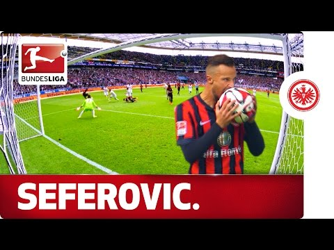 Haris Seferovic - Frankfurt's New Goal-Getter