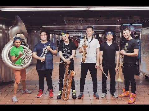 Lucky Chops - Danza 2016 (LIVE At Grand Central Station, NYC)