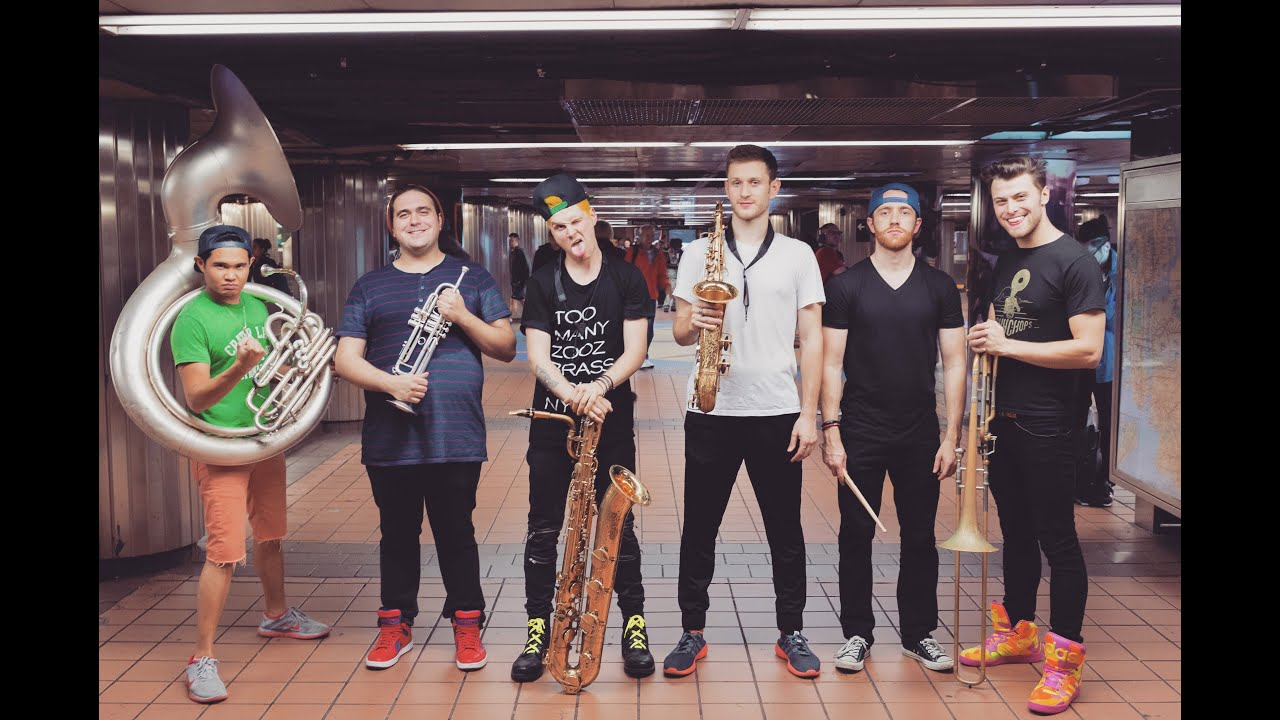 Lucky Chops – Danza 2016 (LIVE at Grand Central Station, NYC)
