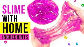 NO GLUE HOME INGREDIENTS SLIME Testing Easy Slime Recipes Under 5 Minutes