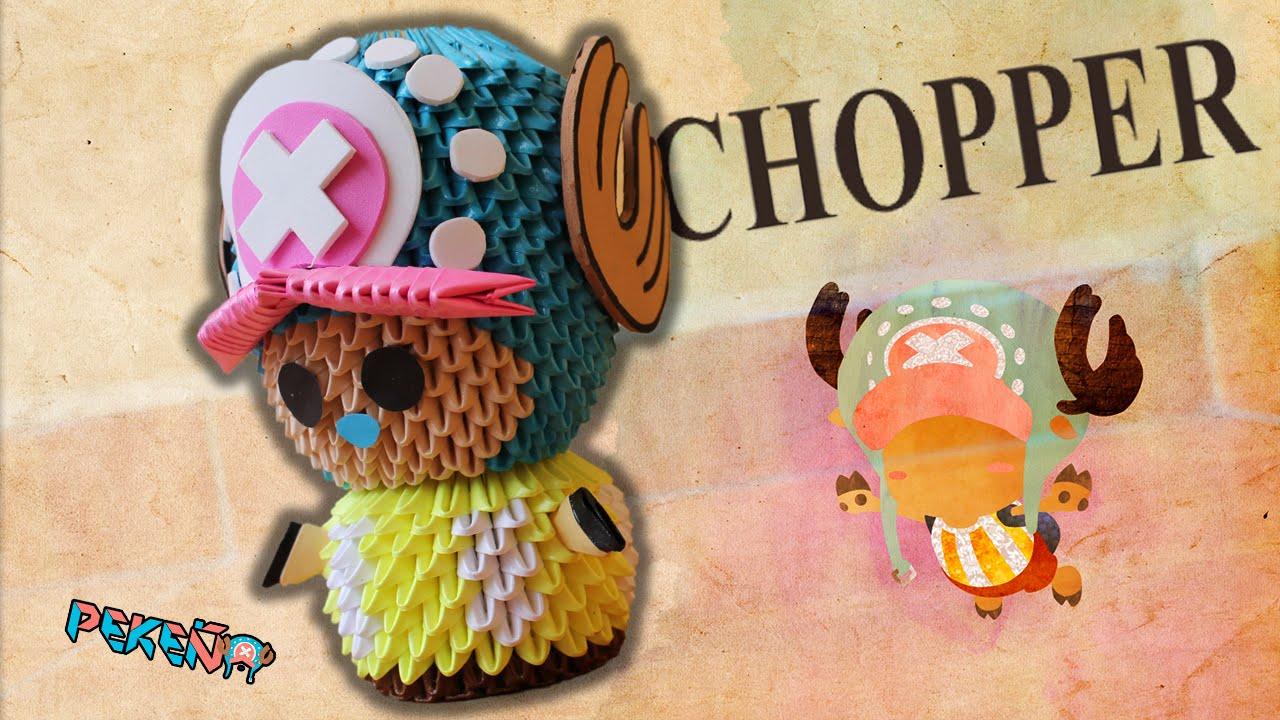 Chopper One Piece 3D Origami