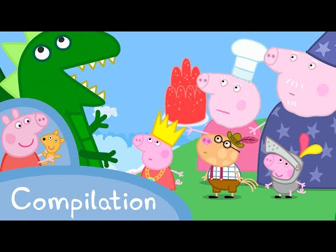 Peppa Pig Episodes - Princesses and Fairytales compilation - Cartoons for Children #PeppaPig