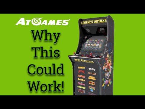 AtGames Home Arcade Cabinet Might be Good! | RetroRGB