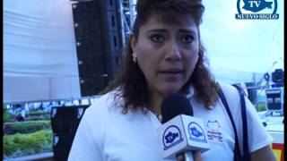 OAXACA NUEVO SIGLO TV CORONACION REINA DE LAS FIESTAS NOCHIXTLAN 2014