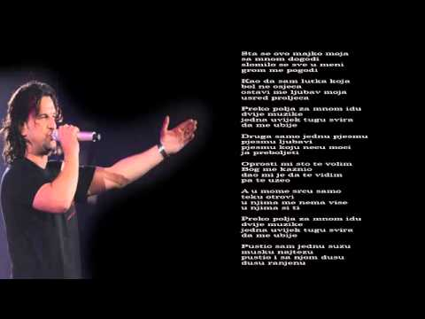 Aca Lukas - Oprosti mi sto te volim - (Audio - Live 1999)