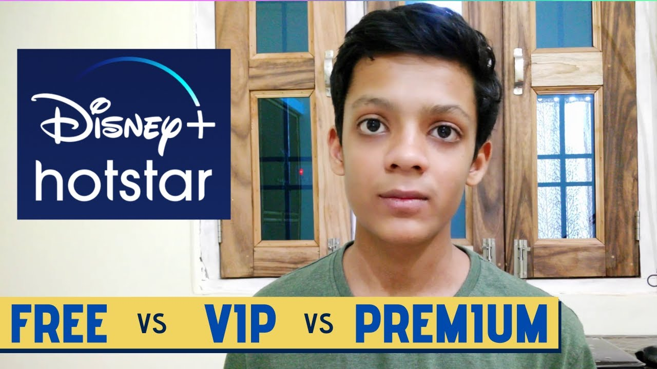 Disney Plus Hotstar Plans Free Vs Vip Vs Premium Subscription Comparison Techno Vaibhav Youtube
