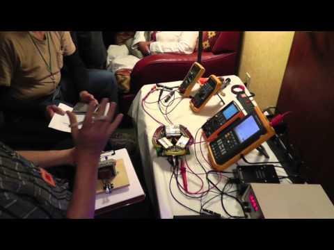 AuroraTek demonstion tesla tech 2014 overunity? (Russ's View)