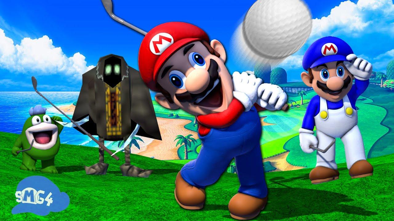 SMG4: Stupid Mario Golf