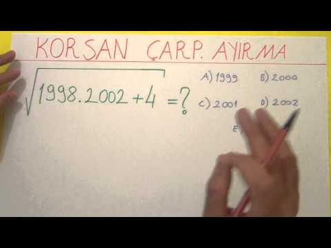 Korsan Yolla çarpanlara Ayırma 2 - şenol Hoca Şenol Hoca Matematik